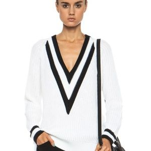 Rag & bone v neck Talia sweater